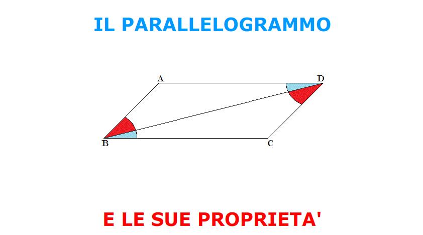 Il parallelogrammo e le sue proprietà